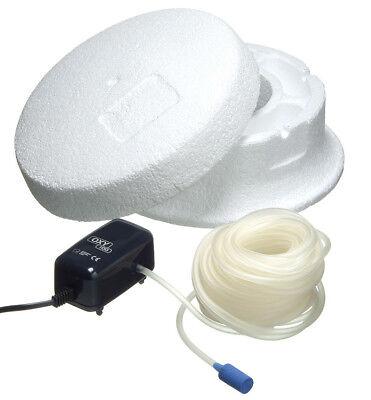 Ubbink Eisfreihalter Set Basic 25 + Belüftungspumpe für Teich
