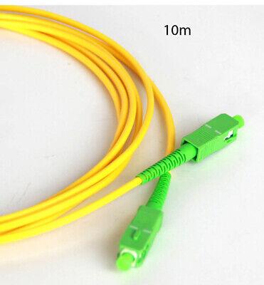 Cable Fibra optica,fibra óptica FTTH.Conector de fibra óptica. SC/APC SC/APC 10M