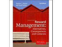 Reward Management: Alternatives, Contexts and Consequences 2nd Eds
