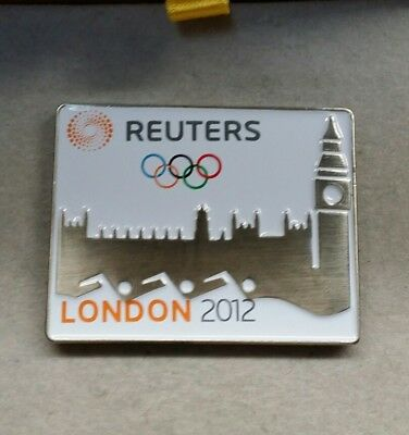 2012 London Reuters News United Kingdom Media Olympic Pin