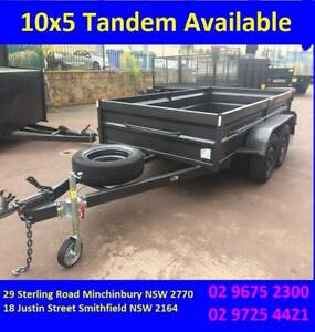 10X5 Tandem High Side with swing door Available now Smithfield Parramatta Area Preview