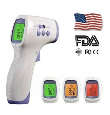 Temperature Gun Non-contact Digital Laser Infrared Ir Thermometer Usa