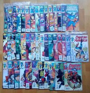 Lote-de-comics-del-CAPITAN-AMERICA-ediciones-Forum-41-numeros