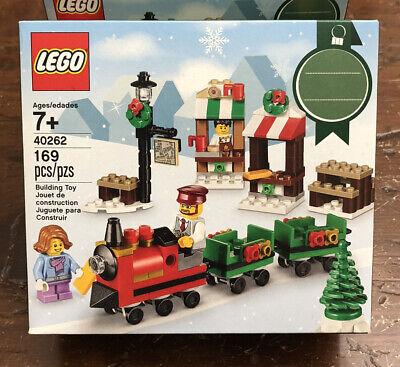 NEW LEGO 40262 SEASONAL VILLAGE CHRISTMAS MINI TRAIN RIDE RETIRED SET SEALED