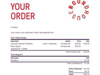 2x Standing - Unknown Mortal Orchestra tix for sale