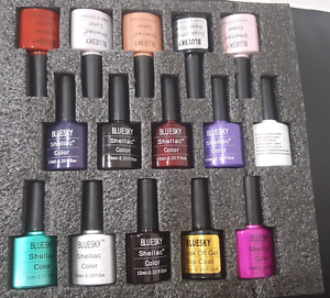 Bluesky shellac set with LED lamp Wattle Grove Liverpool Area Preview