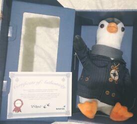 Wilbur The British Gas Penguin