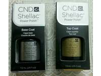 cnd shellac base& top