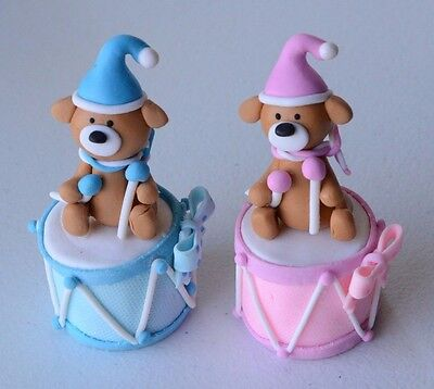 Baby Shower Boy/Girl, Pink/Blue Party Favors/Cake Topper 4