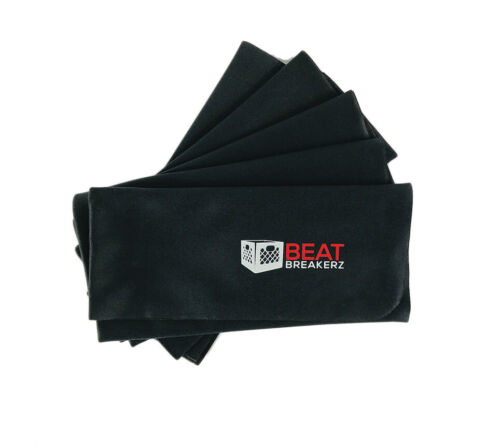 Beat Breakerz - Record Cleaning Cloth, 5 Pack, Black!