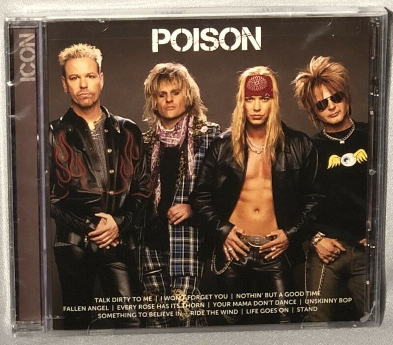 Cd Poison Icon (capitol, 2013) New Mint Sealed
