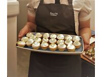 Waiting staff with Leeds based catering business