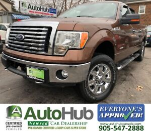 2012 Ford F-150 CREW CAB ECO BOOST XTR 4X4-ALL FOUR NEW TIRES