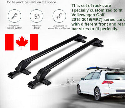 Car Top Roof Rack Cross Bar Door Frame for Volkswagen Golf 2015-2019 MK7
