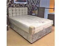 🛏 New DIVAN BEDS * Made in UK * FREE HEADBOARD AND DELIVERY 🚚