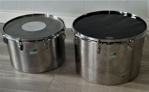 Ludwig stainless steel concert toms