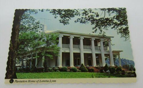 "NOS ""PLANTATION HOME OF LORETTA LYNN"" POSTCARD"