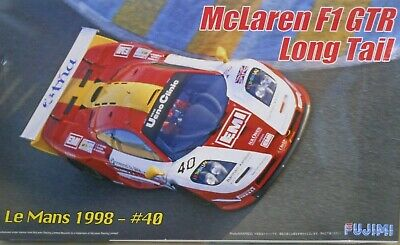 Fujimi 1/24 McLaren F1 GTR Long Tail Le Mans GT-1 1998 #40 EMI - High Detail