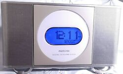 Memorex MC7211 Digital AM/FM Stereo Clock Radio Front Load CD Dual Alarm-TESTED