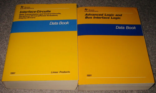Texas Instruments 2 Data Book Set - 1991 Advanced Logic and Interface Circuits
