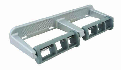 Bradley 5241-000000 Dual Roll Toilet Tissue Dispenser w/Rocking Control MATTE SS