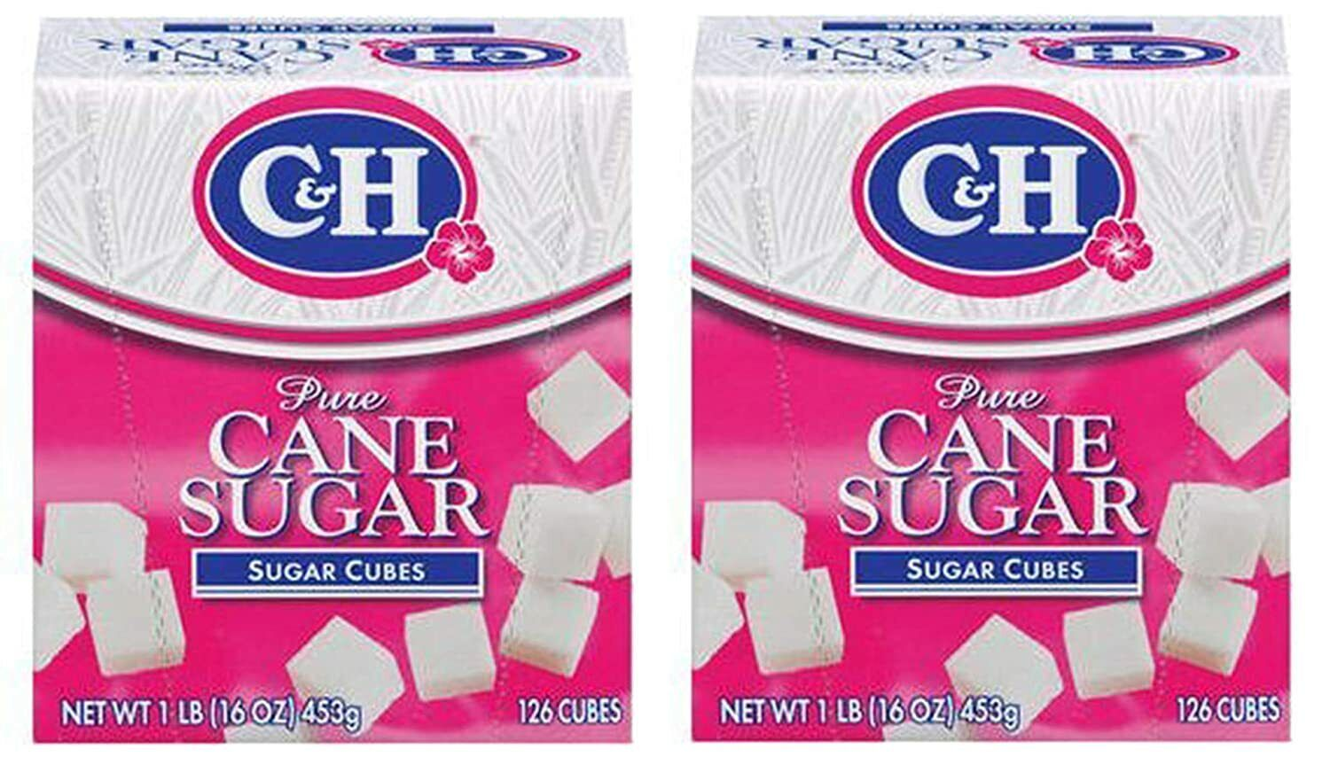 C&H Pure Sugar Cane Cubes, 16 oz (Pack of 2) Baking & Desserts