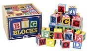 Large Wooden Alphabet Blocks