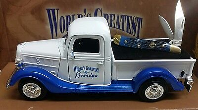 Frost Cutlery Worlds Greatest Grandad 1937 Ford Truck With Knife