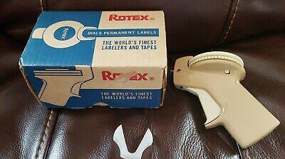 Vintage Avery Rotex Label Maker Model 48e Beige