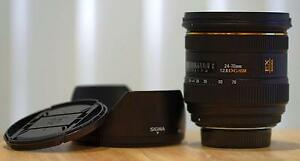 Sigma Lens for Nikon 24-70 f/2.8 + 1 Manfrotto 804RC2 3-way Head Mango Hill Pine Rivers Area Preview