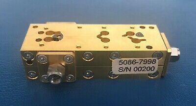 Agilentkeysighthp 5086-7998 Directional Coupler 110ghz 1.0mm Connectors Tested