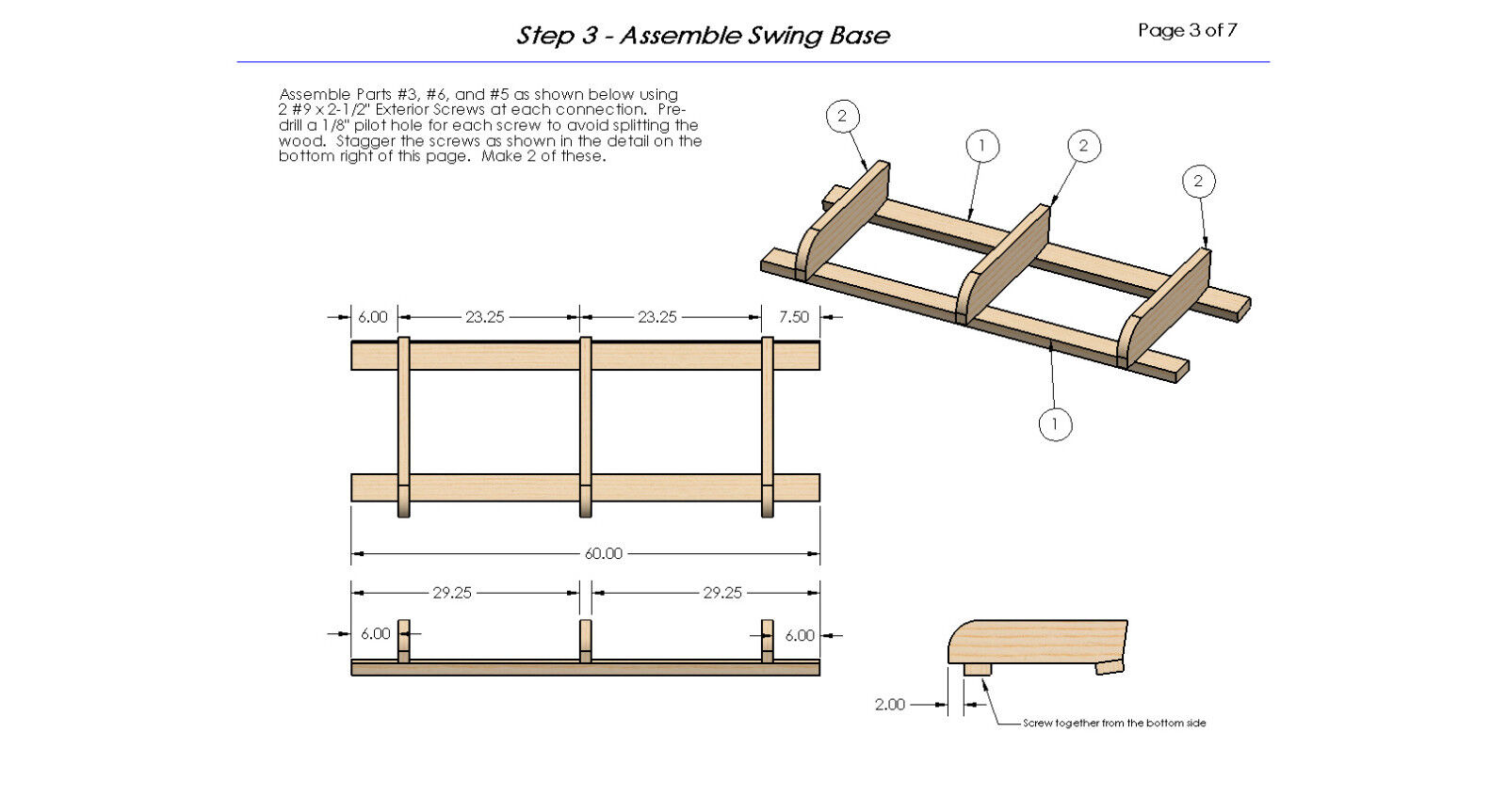Hanging porch bed woodworking diy plans build it for Diy hanging bed plans
