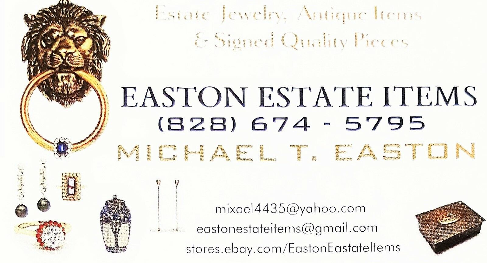 EASTON ESTATE ITEMS