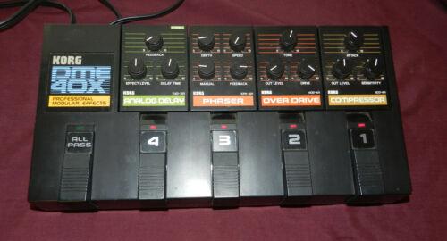 KORG PME-40X Professional modular effector Processor Tested Vintage Used