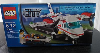 Lego Town Ciudad Hospital 2064 Aire Ambulancia Avión Nuevo Sellado