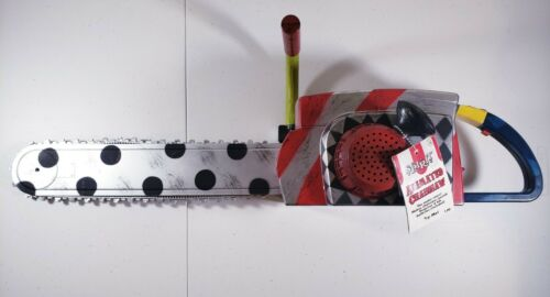 Spirit Halloween: ANIMATED CHAINSAW Prop Makes Sound Haunted House - NEW w/ TAGS