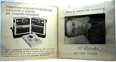 Usato, KODAK (Pubblicitaria d'epoca,Modello INSTANT) usato  Italia