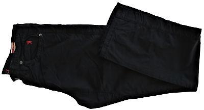 Str Stop (Pantalone Uomo Jaggy Nero Pants Men Black McQueen Rg Str Stop Gab Special Limite)