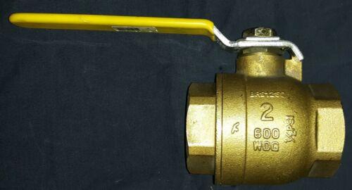 """2"""" ball valve, brass"""