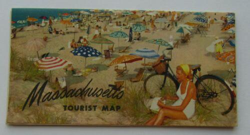 Massachusetts Tourist Map 1930