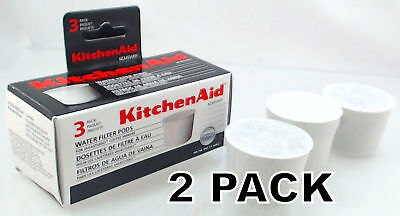 2 Pk, Coffee Maker Water Filter Pods for KitchenAid , KCM5WF