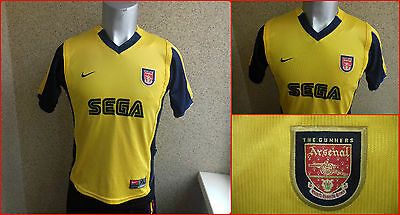 Arsenal 1999 2000 Away football shirt YOUNG L JERSEY NIKE GROWT 156 3d86edb0e802d