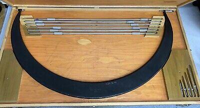 Scherr Tumico Interchangeable Anvil Od Micrometer Set 36-42 Range .001