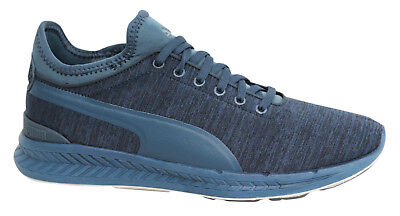 Puma Ignite Sock Jersey Lace Up Blue Mens Textile Sports Trainers 362352 03 X60B