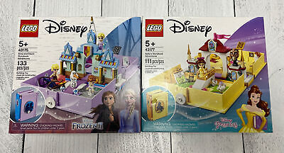 LEGO Disney Storybook Adventures Lot of 2 - Beauty & Beast, Frozen 2 - both NIB