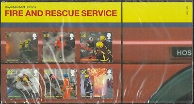 GB 2009 PRESENTATION PACK FIRE AND RESCUE SERVICES