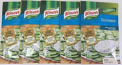 Knorr DILL Cucumber Salad Dressing (Mizeria) - pack of 5 -FREE - Cucumber Dill