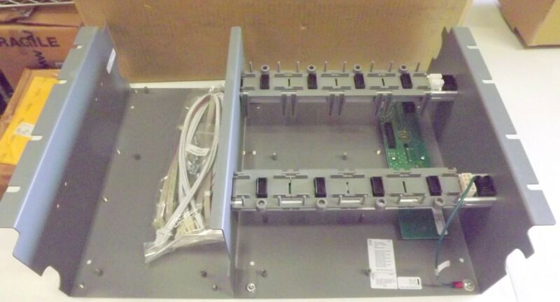 EDWARDS 3-CHASS4 CHASSIS ASSEMBLY FOR FIRE ALARM- SECURITY EQUIPMENT ENCLOSURE