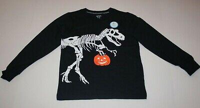 Neu Carter's Jungen Halloween Dinosaurier T Rex Top 4 5 12 14 Süßes oder Saures