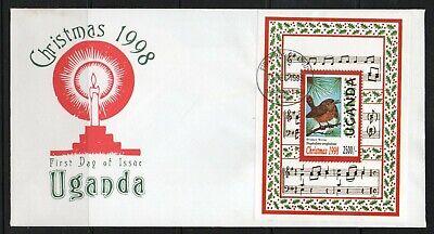 Uganda FDC stamps  birds,